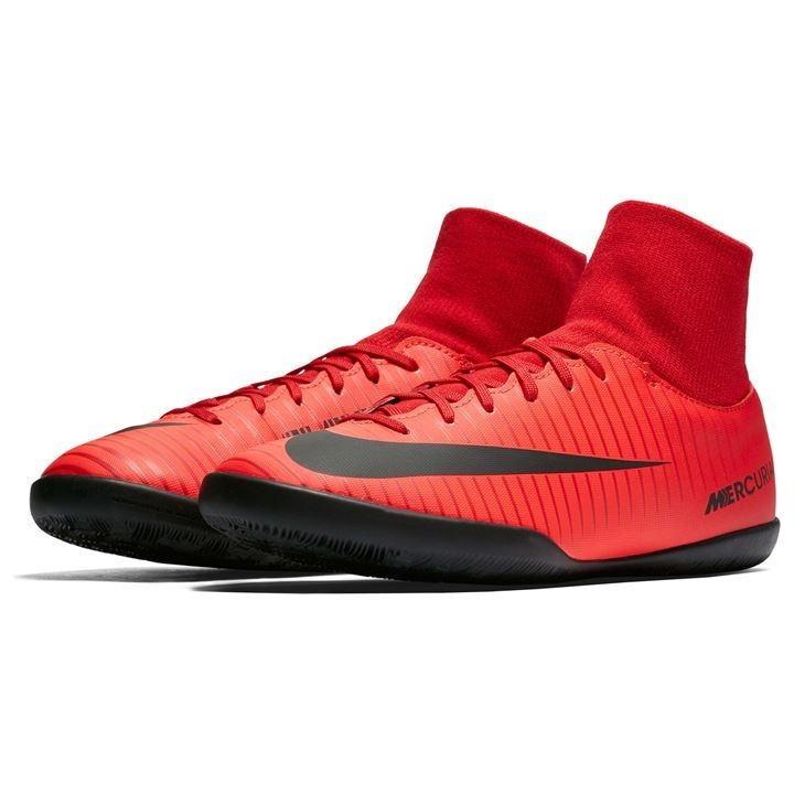 41a2c5ec43 Tênis Nike Futsal Mercurial Victory Botinha Vermelha Adulto - R  479 ...