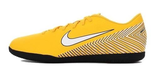 tênis nike futsal vaporx 12 club neymar njr ic ao3120 + nf