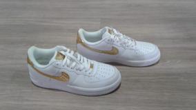 05b6df88693 Tenis Cr7 Dourado Masculino Nike Air Force - Tênis no Mercado Livre ...