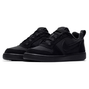 60c0b21d794 Tênis Nike Infantil Court Borough Low Couro Original - Nº 37