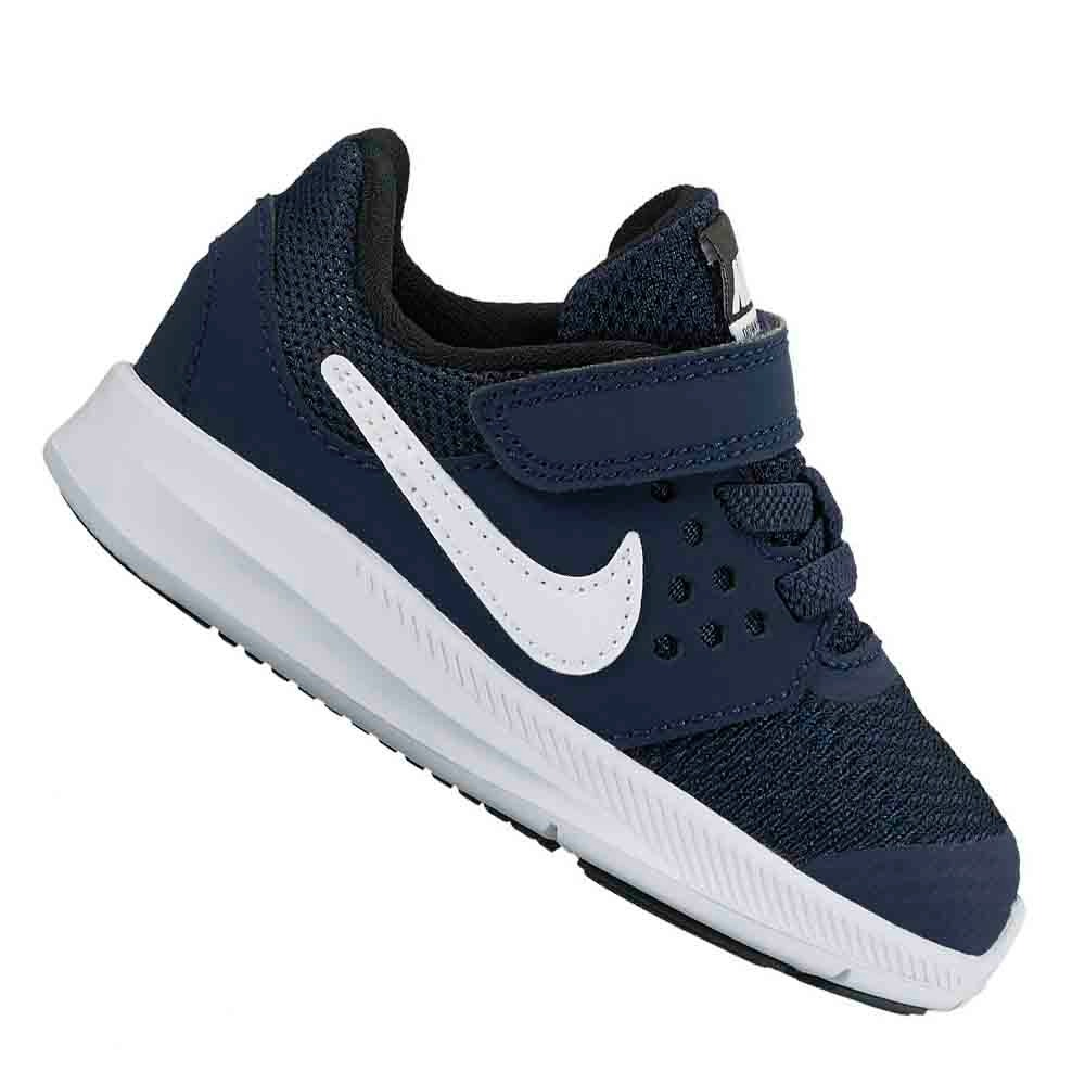 6f441a6ae41 Tênis Nike Infantil Menino Down T Masculino Marinho Original - R ...