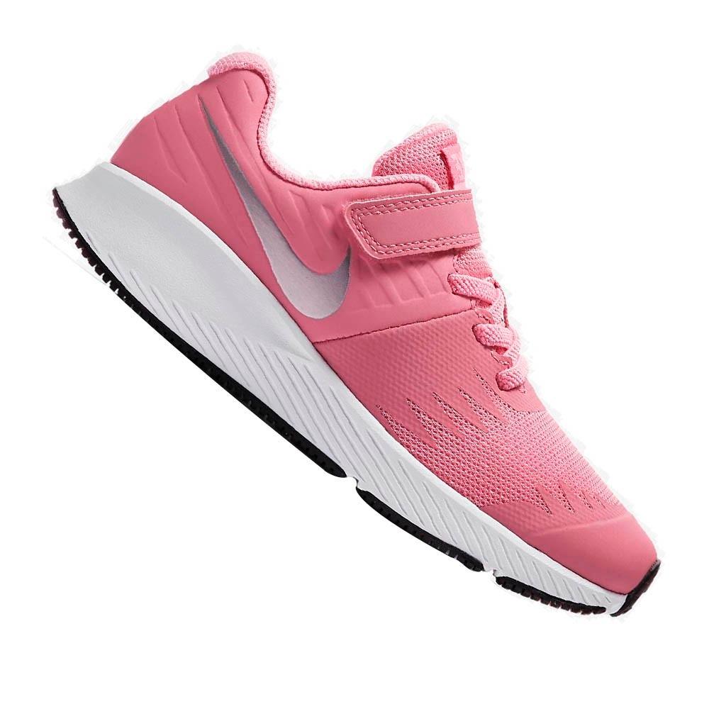 tênis nike infantil star runner rosa menina 921442601. Carregando zoom. bad23681620f2