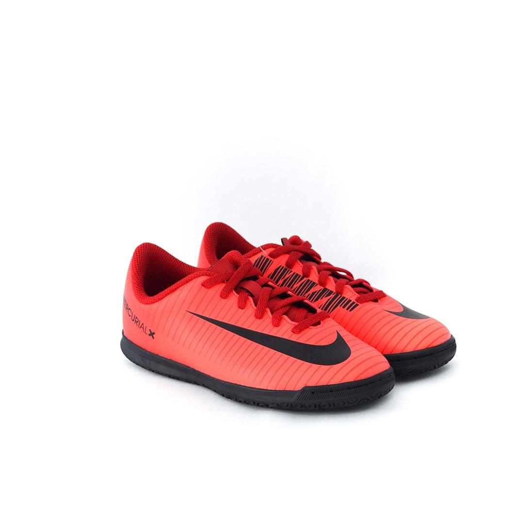 916bb627712 tênis nike jr mercurialx vortex iii ic futsal vermelho. Carregando zoom.