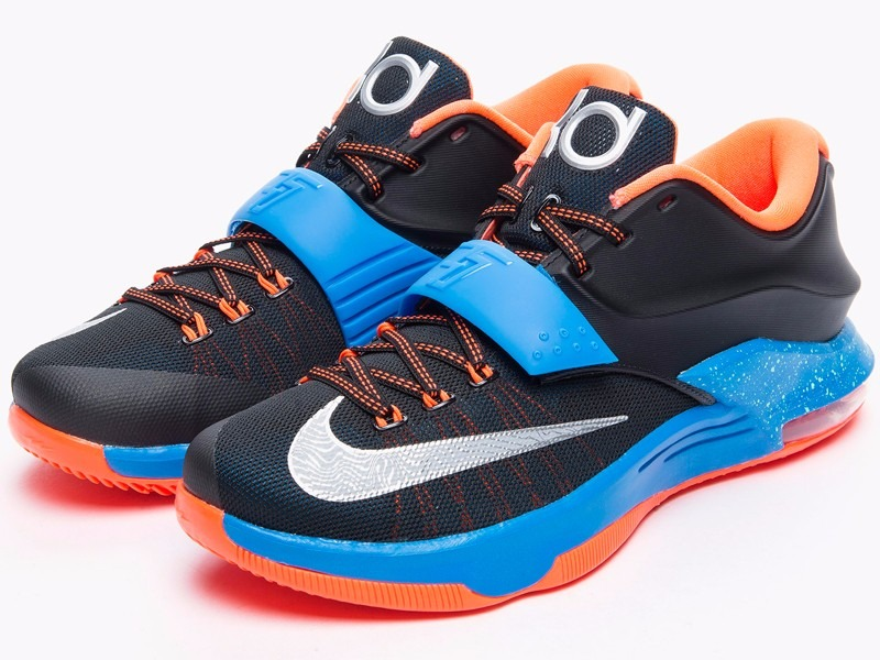 2a6c9c762553b8 coupon code for tênis nike kd 7 kevin durant on the road okc nba basketball.