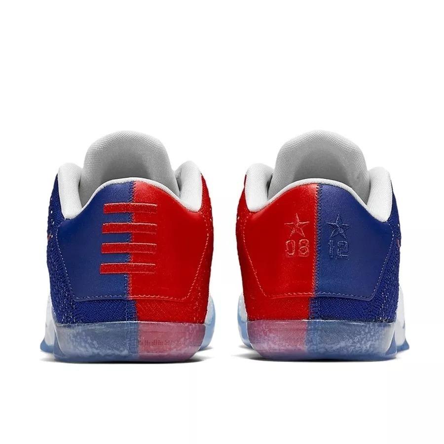 size 40 f6f0f bdb5b Tênis Nike Kobe 11 Elite Low Team Usa Olympic Basketball. - R  469 ...