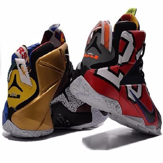 sale retailer a2980 21e3b Tênis Nike Lebron 12 Elite Color's Nba Original U.s.a