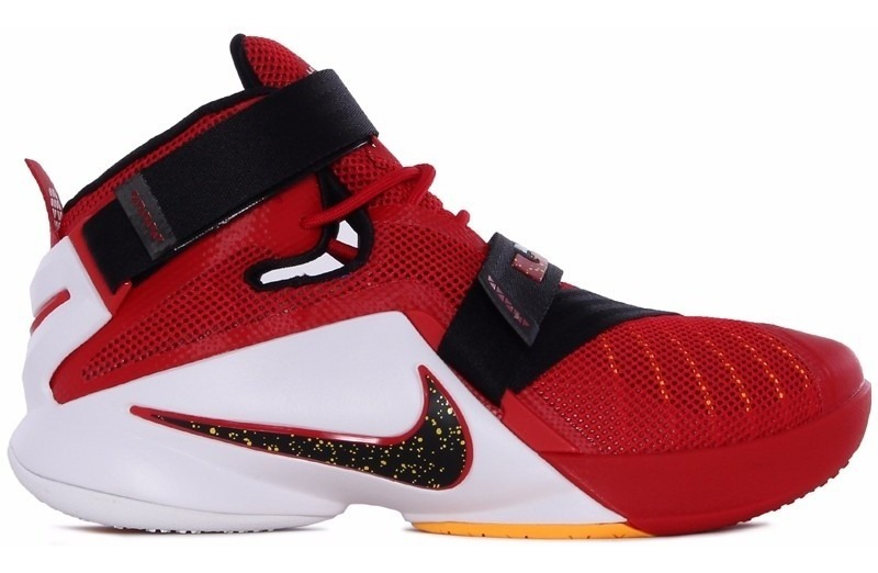 super popular 5c548 6a6a0 Tênis Nike Lebron James Soldier 9 Red Basketball, Imediato.