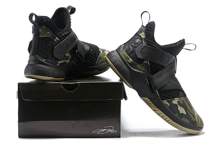 c6bef159bbf2c ... spain tênis nike lebron james xii camuflado 100 original shoes 2500d  c63ad