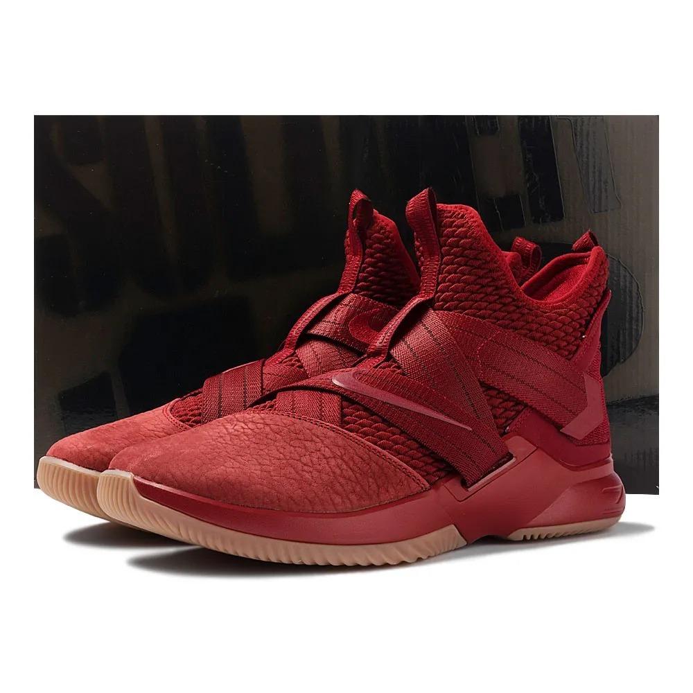 finest selection 558bf bc296 Tênis Nike Lebron Soldier 12 Xii Sfg Vinho Vermelho Original