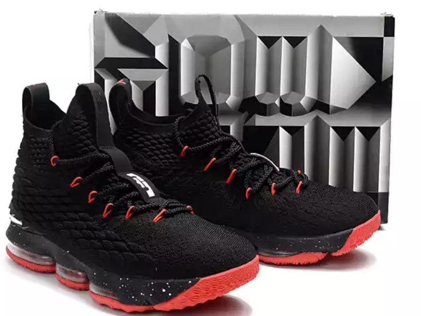 Tênis Nike Lebron Soldier 15 Lançamento Black Red - R$ 699 ...