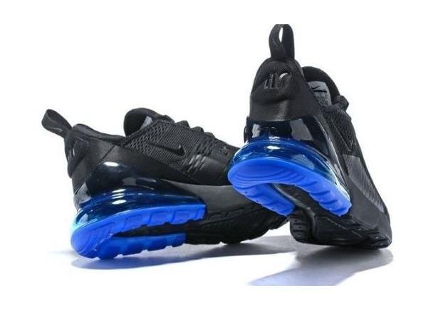 tênis nike air max 270 masculino - preto e azul original · tênis nike  masculino 528455b5b64e5