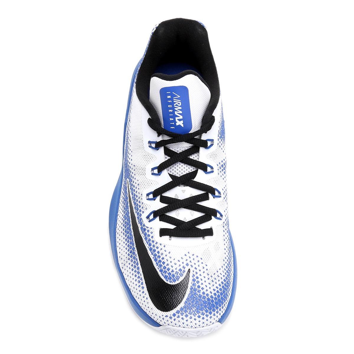d1dcec949cf Carregando zoom... nike masculino tênis. Carregando zoom... tênis nike air  max infuriate low masculino - branco e azul