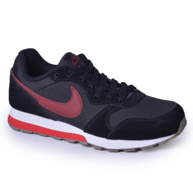 c250ccb5e tênis nike md runner 2 inf. preto e vermelho. Carregando zoom.