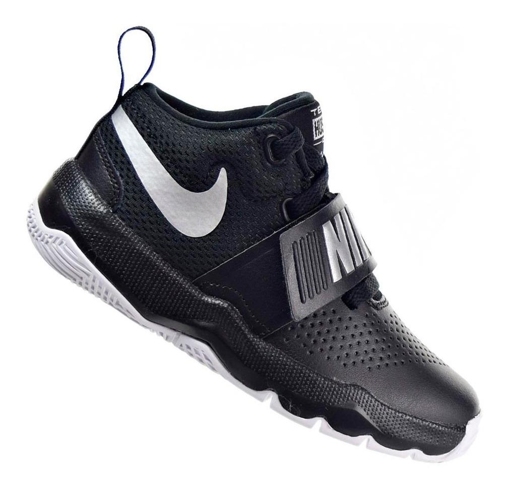276ecb89c1 Tênis Nike Menino Team Hustle D 8 Preto 88192001 Original