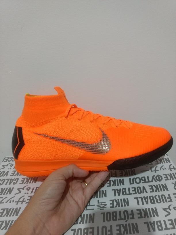 7663836d7f Tênis Nike Mercurial X Superfly 360 Elite Futsal - R  500