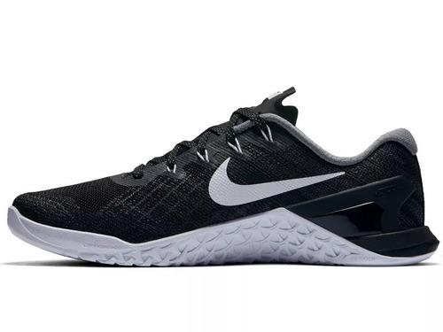 tênis nike metcon 3 crossfit black shine high performance