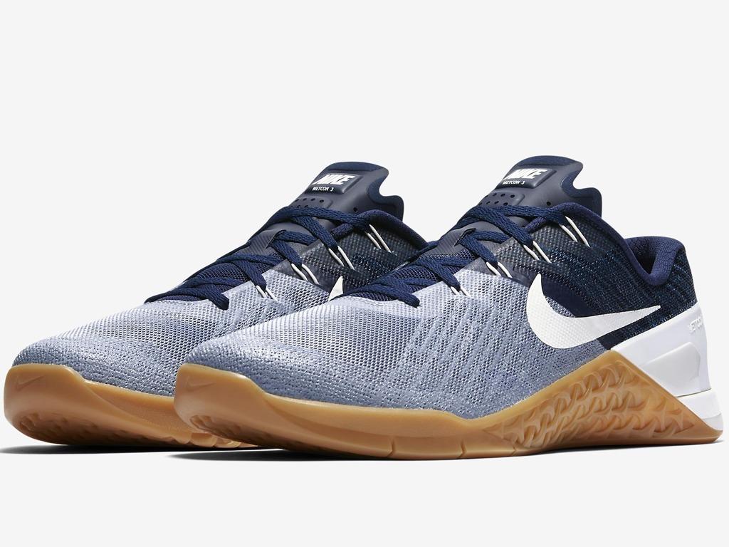 bb49f3e478d Tênis Nike Metcon 3 Crossfit Box Blue Funcional