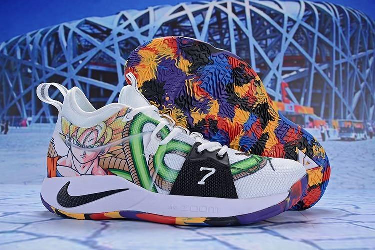 6d9e508ee513 Tênis Nike Paul George 2 Dragon Ball Z Série Especial Shoes - R  579 ...