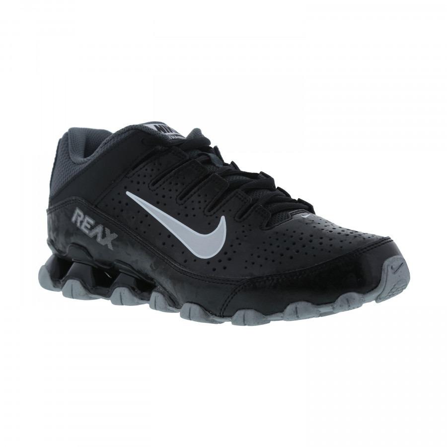 601ba8b562 Tênis Nike Reax 8 Tr Preto E Prata Original - Footlet - R$ 279,90 em ...