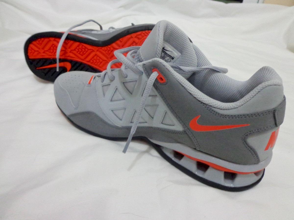 59dbd686c26 Tênis Nike Reax Tr 6 Tam 40 Laranja Cinza Original Pronta En - R ...