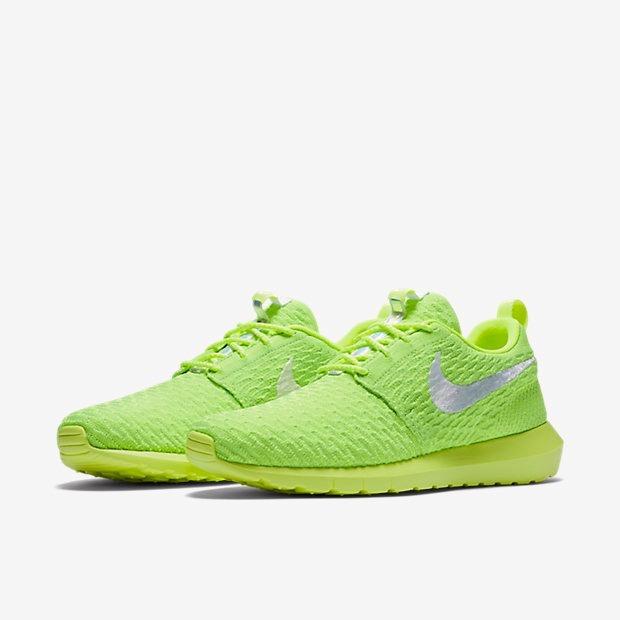 1605b35ea0b Tênis Nike Roshe Nm Flyknit Verde Limão Original - Footlet - R  329 ...