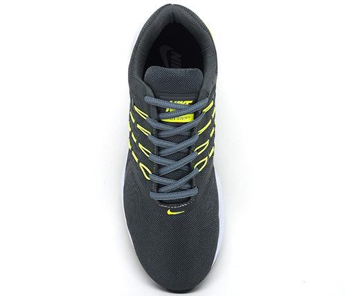 tênis nike run swift azul marinho e verde