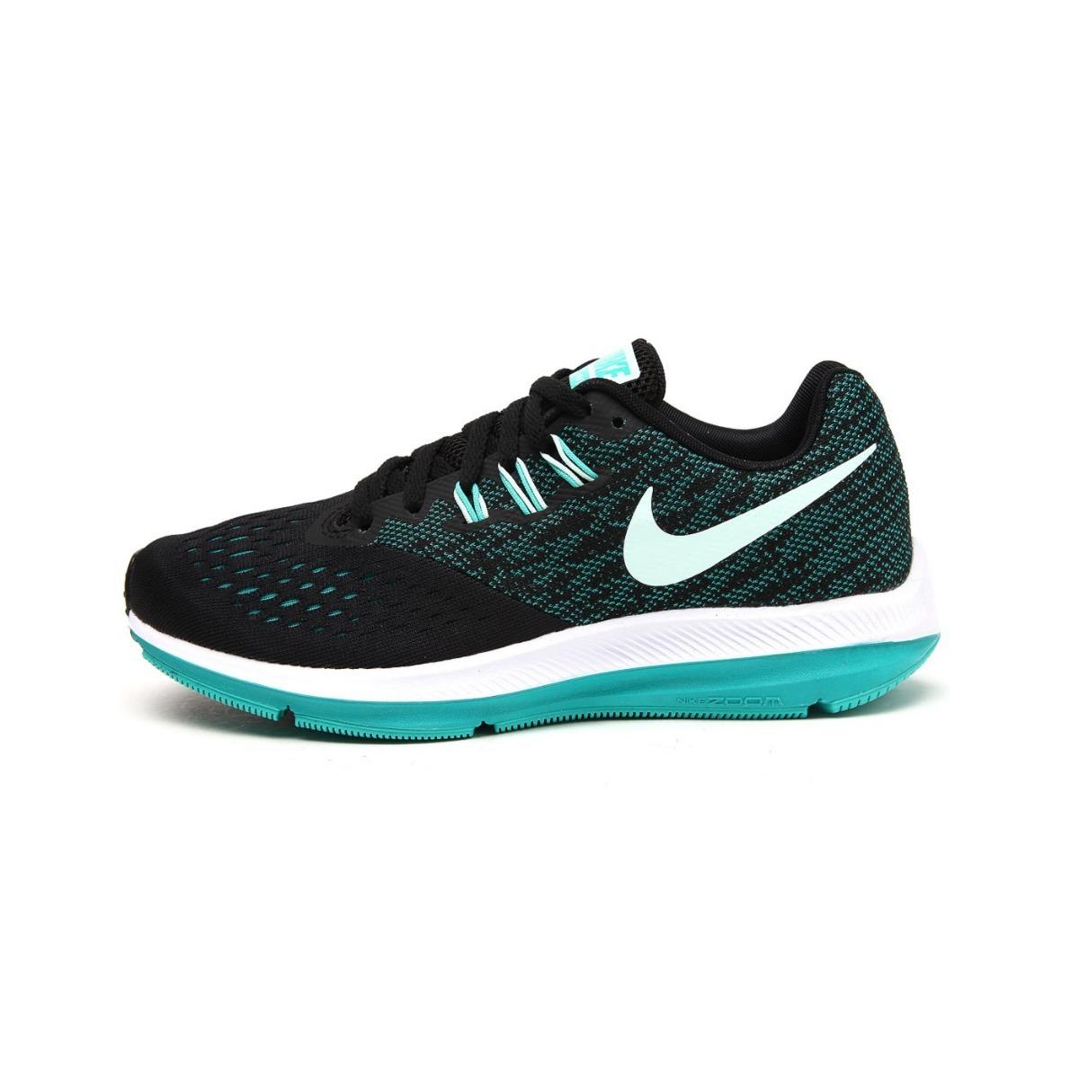 ccaf8904524 Tênis Nike Zoom Winflo 4 898485 Running Feminino Original - R  399 ...