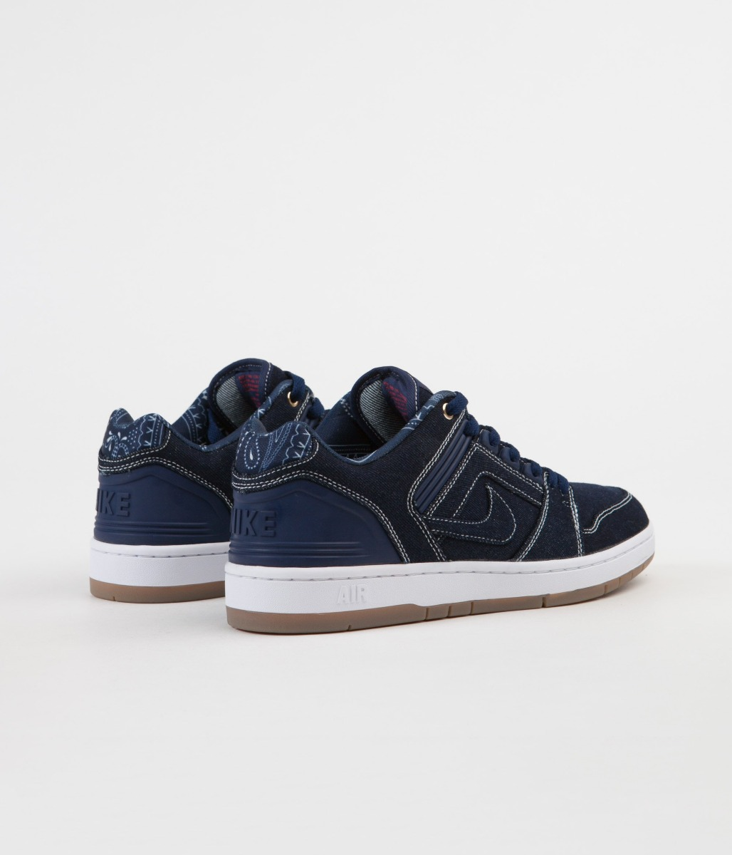 Tênis Ii Binary Low Nike Force Air Blue Sb J1clFK