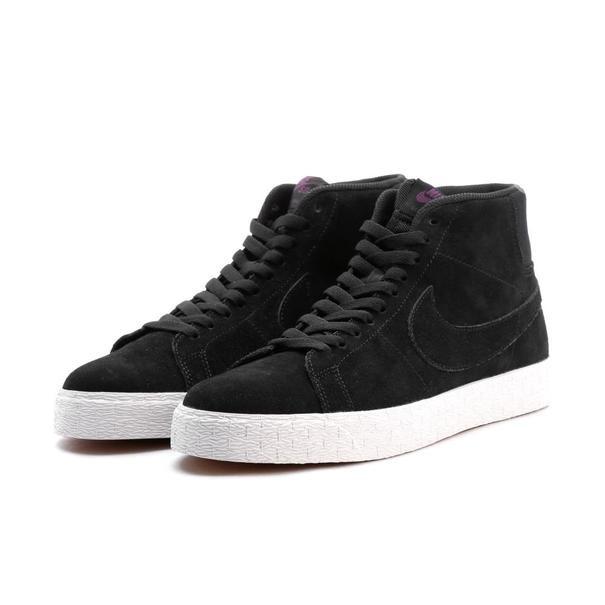 on sale 5eeb2 65943 Tênis Nike Sb Blazer Mid Decon - Black/purple