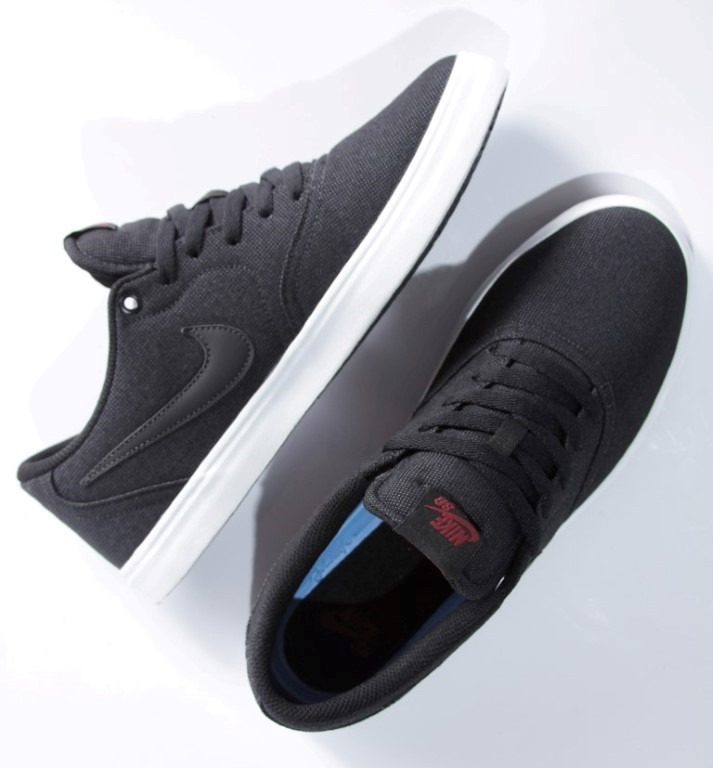 Tênis Nike Sb - Check Solar Canvas Black - R  249 51d29ccb093