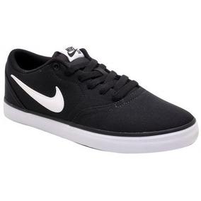 60eaf26e71 Tênis Nike Sb Check Solar Cnvs 843896-001 Black/white