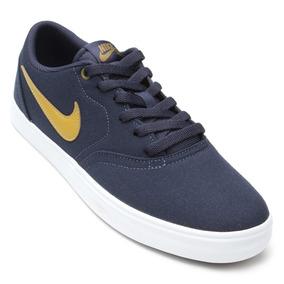 84ca4e3c2a Raquel Calcados Tenis Masculino Nike - Tênis Textil Azul marinho no ...