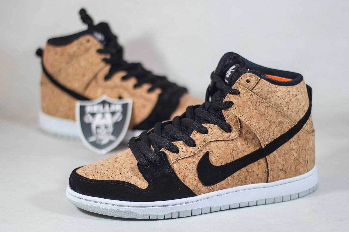 check out ba674 3e7e5 tênis nike sb dunk high premium cork cortiça raro sneaker. Carregando zoom.