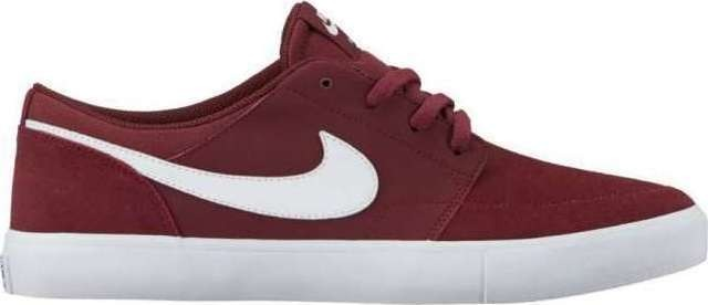 Tênis Nike Sb Portmore Ii Solar Dark Red white - R  299 c1319d87edb8