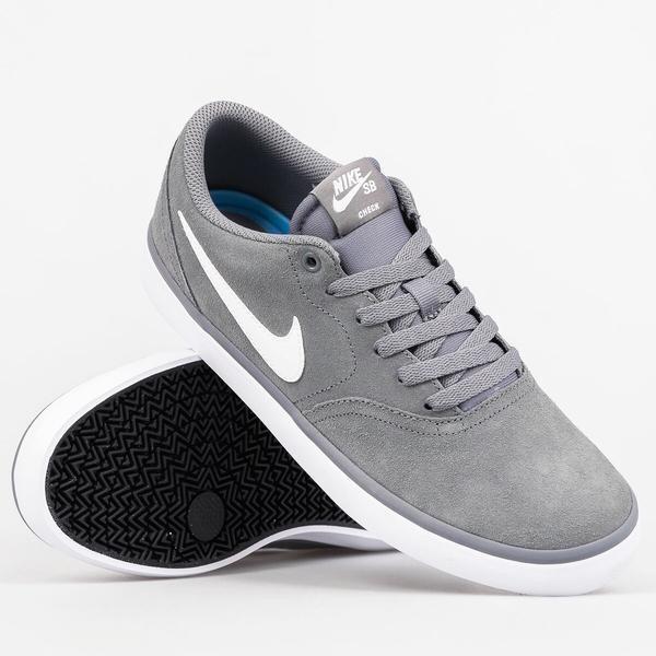 info for 25509 1c69c Tênis Nike Sb Shoes Check Solar Cool Camurça Skate Top - R  349,90 em Mercado  Livre