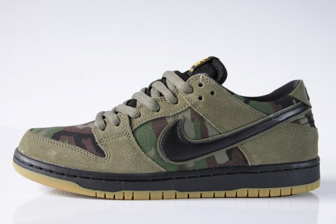 e01b164d88 Tênis Nike Sb - Zoom Dunk Low Pro Medium Olive - R  429