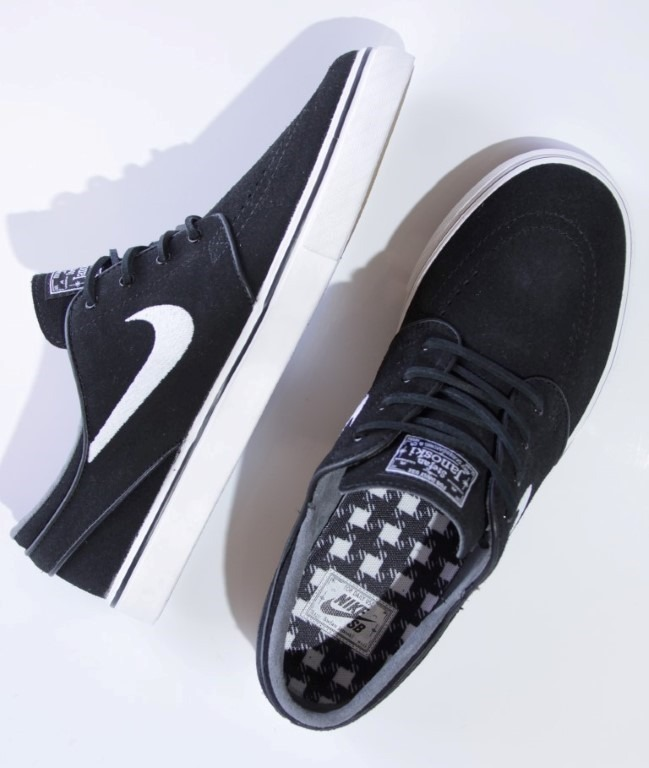 Tênis Nike Sb - Zoom Stefan Janoski Og Black white-gum - R 429 fa7667d80dd31