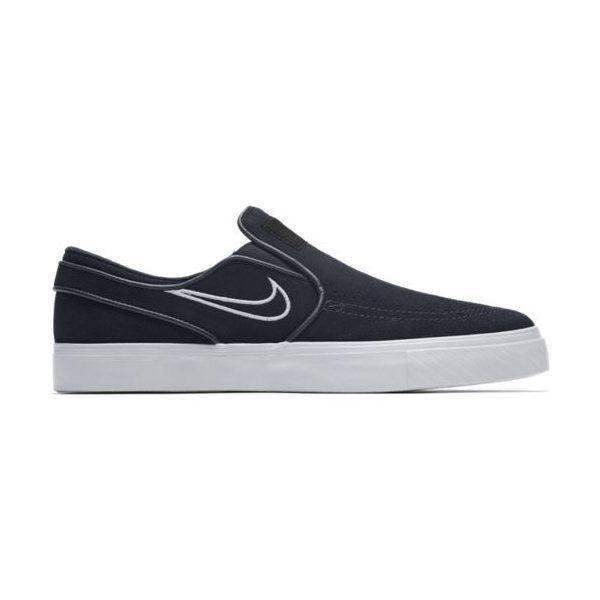 Tênis Nike Sb Zoom Stefan Janoski Slip - Black white - R  395 e9c9add7f5b51