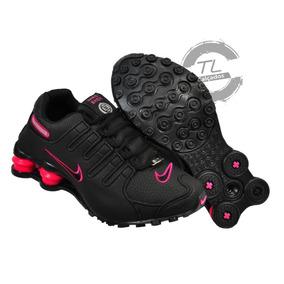 e61e0b2fa65 Nike Shox 4 Molas Feminino Rosa - Tênis no Mercado Livre Brasil