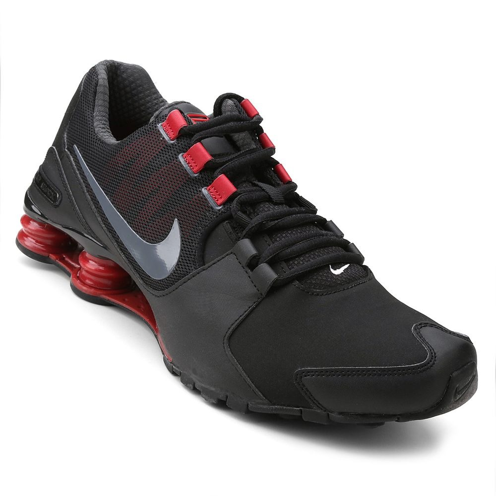 183b4929be6 tênis nike shox avenue ltr - masculino - preto vermelho. Carregando zoom.
