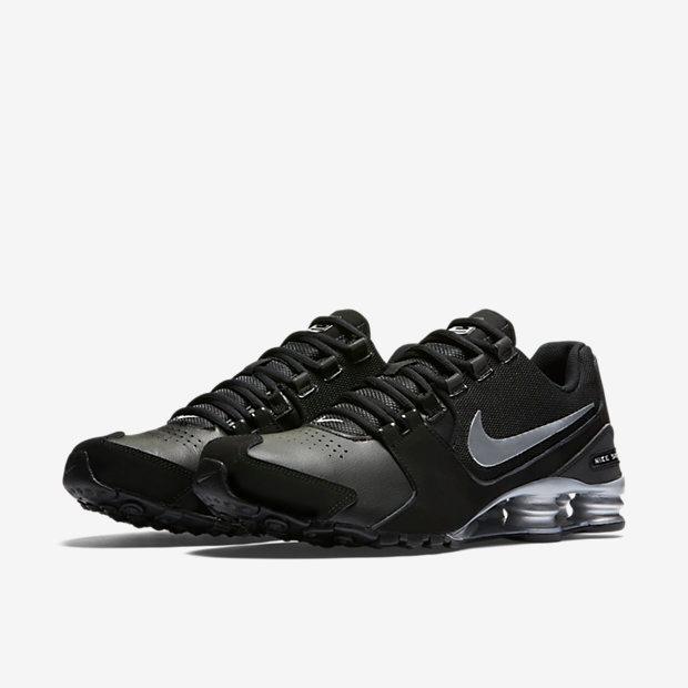 4d3765e8a5b Tênis Nike Shox Avenue Ltr Preto E Prata Original - Footlet - R  499 ...