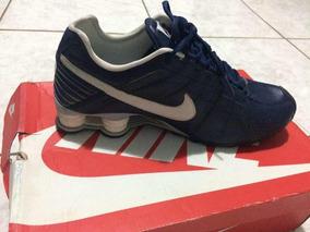 separation shoes e38ed 323ed Tênis Nike Shox Azul Marinho Tamanho 40