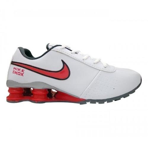 quality design 22e10 0c5b5 tênis nike shox classic branco e vermelho