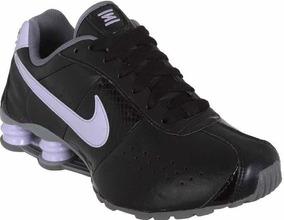 a21838cefe6 Nike Shox Branco E Lilás Feminino - Tênis no Mercado Livre Brasil