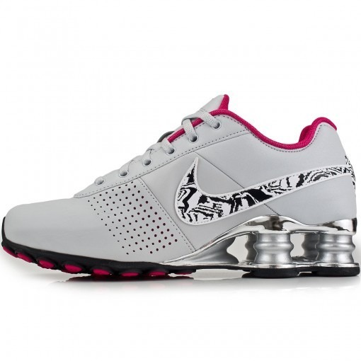 Tênis Nike Shox Deliver Feminino Cinzarosa