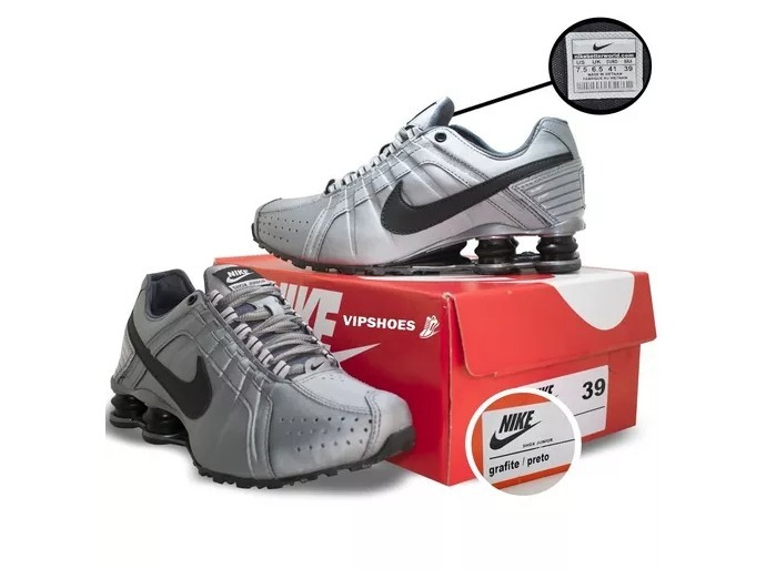 8c15dbe6a03 Tênis Nike Shox Junior Amortecedor Kit 2 Pares +frete Grátis - R ...
