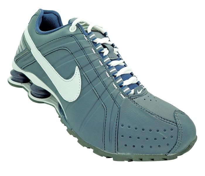 cf8677064d ... cheapest tênis nike shox junior azul e branco brinde d1528 462ea