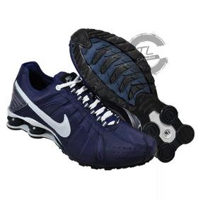 c4d252792449a Nike Shox Junior Azul E Laranja - Tênis no Mercado Livre Brasil