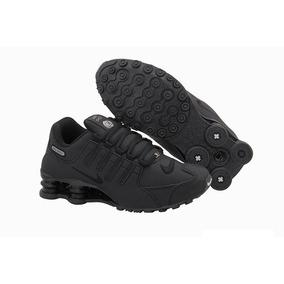 the best attitude 2ce79 fb81a Tênis Nike Shox Nz 4 Molas Masculino Original Feminino Preto