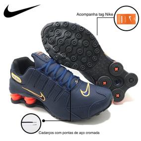 73fa8eeb702 Nike Shox 4 Molas Dourado - Tênis no Mercado Livre Brasil